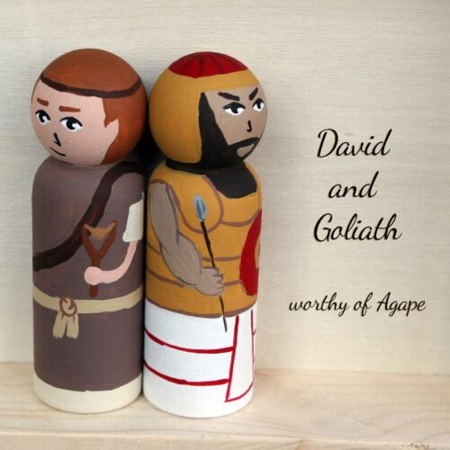 David and Goliath back to back
