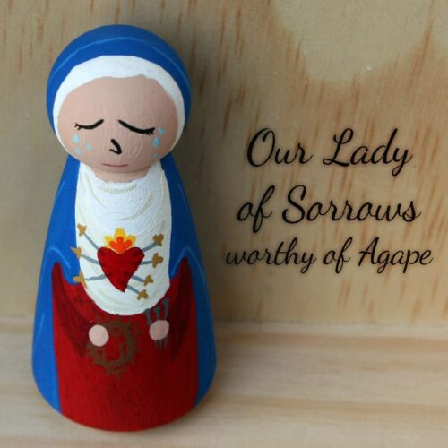 Our Lady of Sorrows top angle straight on