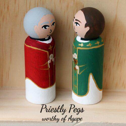 Priestly pegs full face side