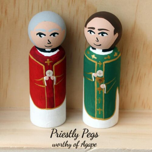 Priestly Pegs full face