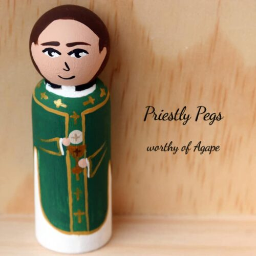 Priestly Pegs ordinary time full face