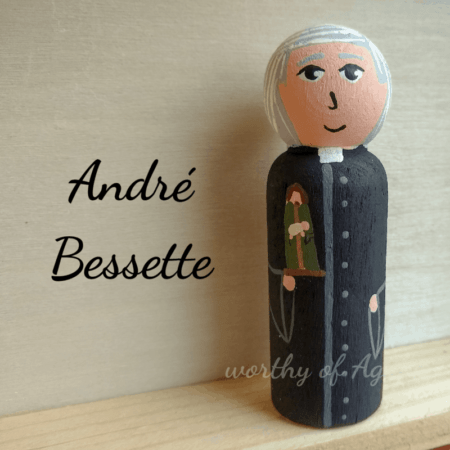 Andre Bessette front view
