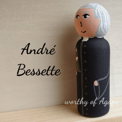 Andre Bessette side view