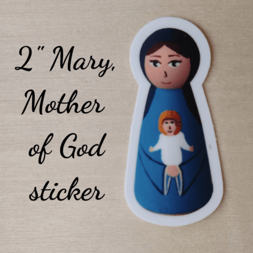 Mary Mother of God sticker
