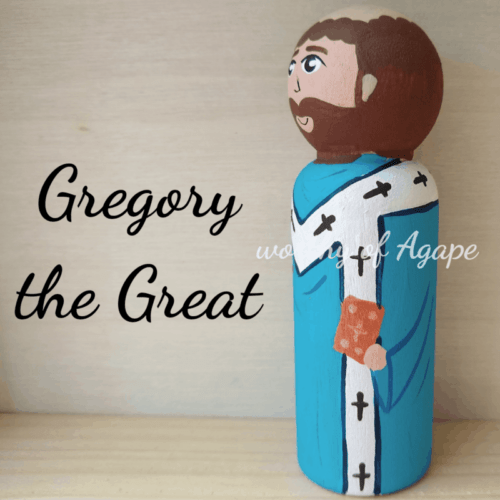 Gregory the Great Bible side