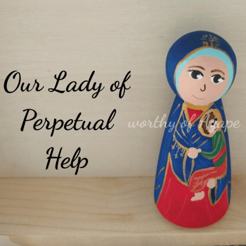 Our Lady of Perpetual Help top