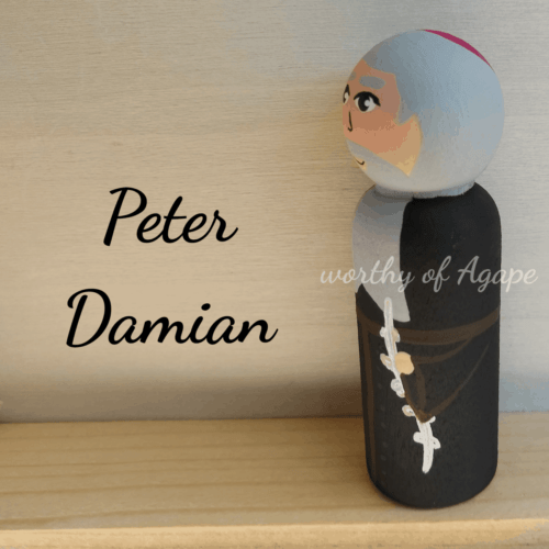 Peter Damian rope side