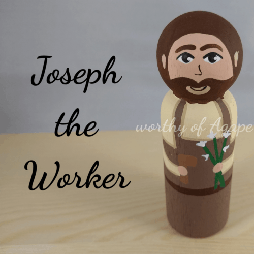 Joseph the Worker top new