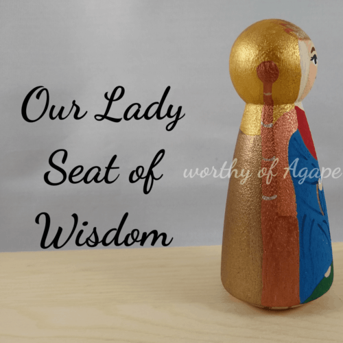 Our Lady Seat of Wisdom side 2