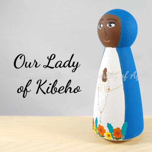 Our Lady of Kibeho side 2
