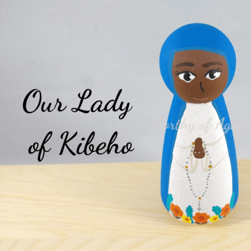 Our Lady of Kibeho top
