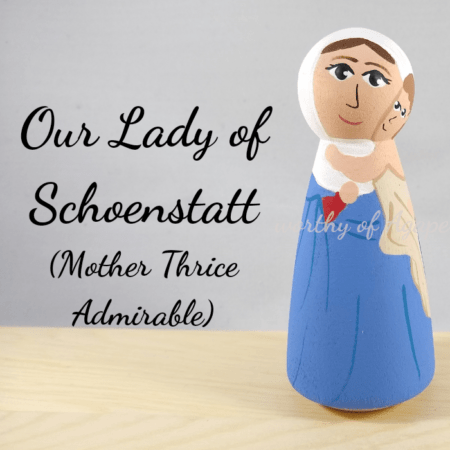 Our Lady of Schoenstatt mother thrice admirable main