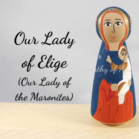 Our lady of elige the Maronites main