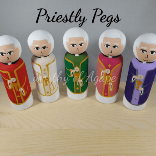Priestly Pegs full set new top