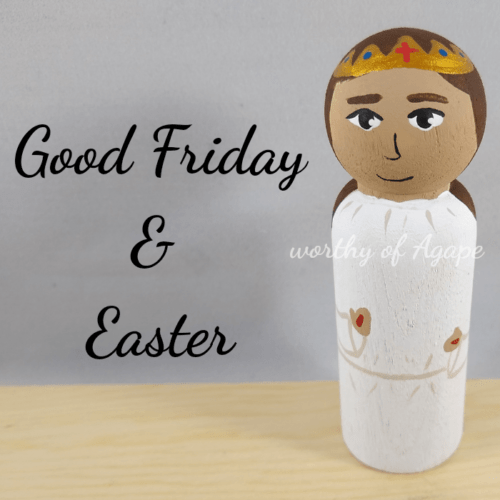 Good Friday and Easter Easter side top