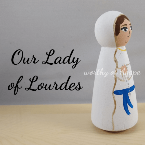 Our Lady of Lourdes side new