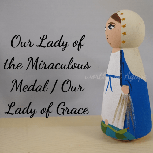 Our Lady of the Miraculous Medal Our Lady of Grace side 2