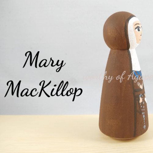 Mary MacKillop new side