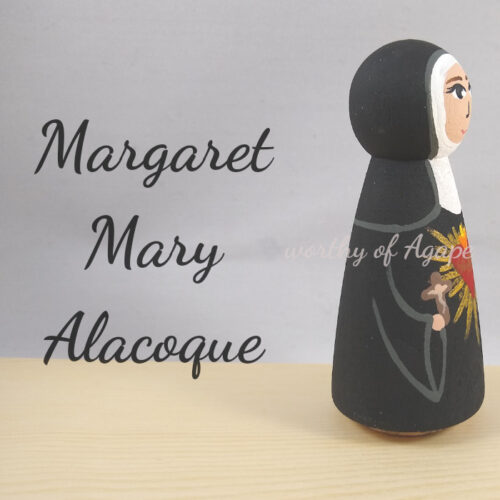 Margaret Mary Alacoque new side