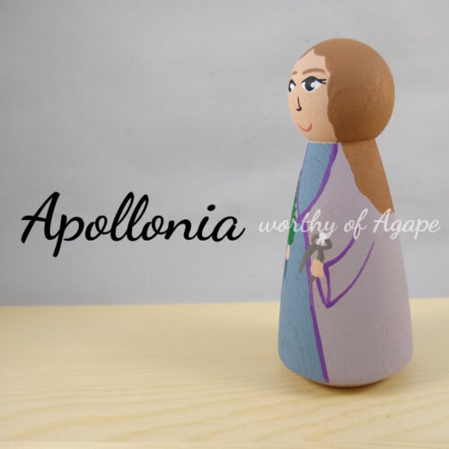 Apollonia tooth side