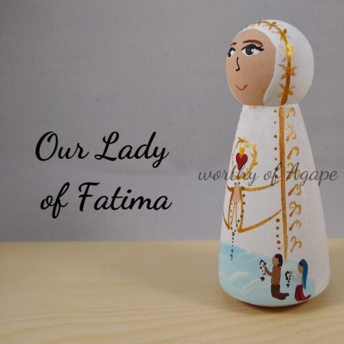 Our Lady of Fatima with kids new side2